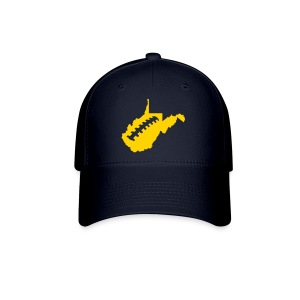 WV Football Cap - Blue - Baseball Cap