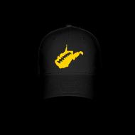 Sportswear ~ Baseball Cap ~ WV Football Cap - Black