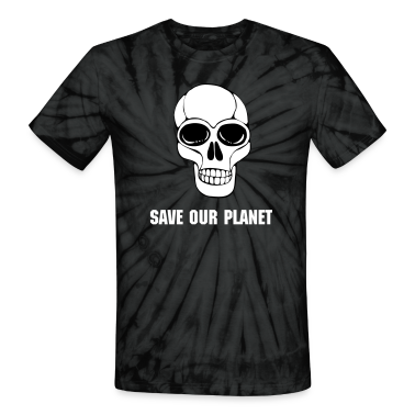 Save Our Planet Tie Dye Tee
