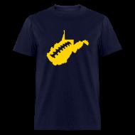 T-Shirts ~ Men's T-Shirt ~ WV Football