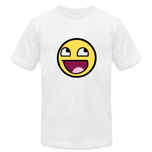 AWESOME FACE MEN - Men's Fine Jersey T-Shirt