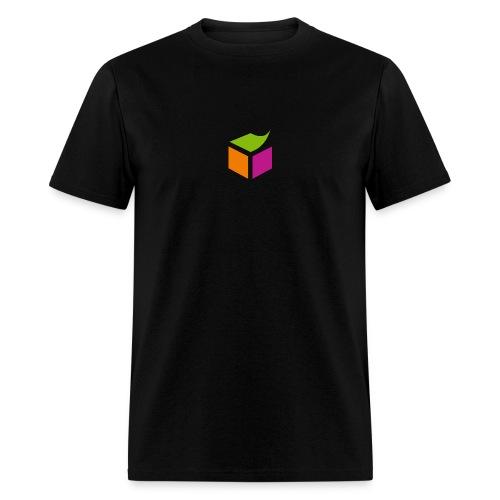 sementicweb_men_black_shirt - Men's T-Shirt