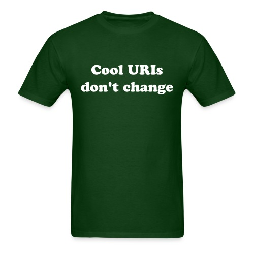 uri_men_green_shirt - Men's T-Shirt