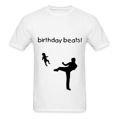 Birthday Beats! (Men's) - Men's T-Shirt