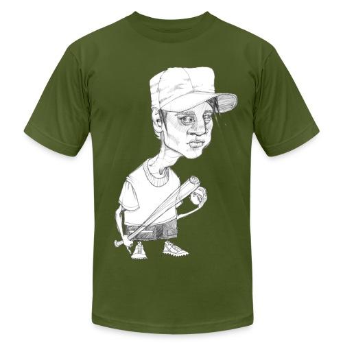 Baseball Boy - Men's Fine Jersey T-Shirt