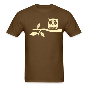 Owls Are For Nubs - Men's T-Shirt