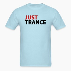 Sky blue Just Trance T-Shirts