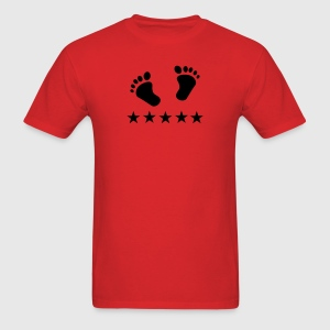 Red pregnant T-Shirts - Men's T-Shirt