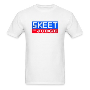 Skeet for Judge - Men's T-Shirt