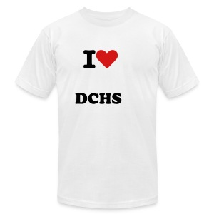 I love DCHS tee - Men's Fine Jersey T-Shirt