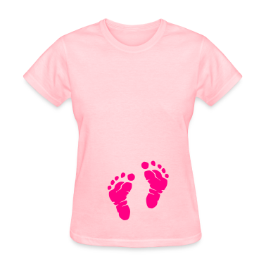 Pink Feet Women's T-Shirts
