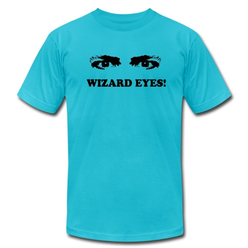 WIZARD EYES! - AMERICAN APPAREL - Men's Fine Jersey T-Shirt