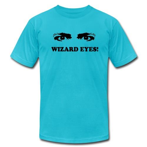 WIZARD EYES! - AMERICAN APPAREL - Men's  Jersey T-Shirt