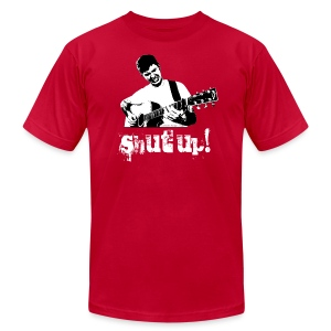 Shut Up! - AMERICAN APPAREL - Men's T-Shirt by American Apparel