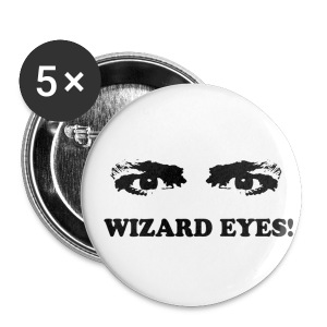 WIZARD EYES button - Small Buttons