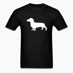 Black Dachshund T-Shirts