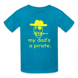 My daddy - Kids' T-Shirt