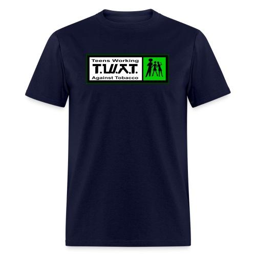 Teens Working Against Tobacco - Men's T-Shirt