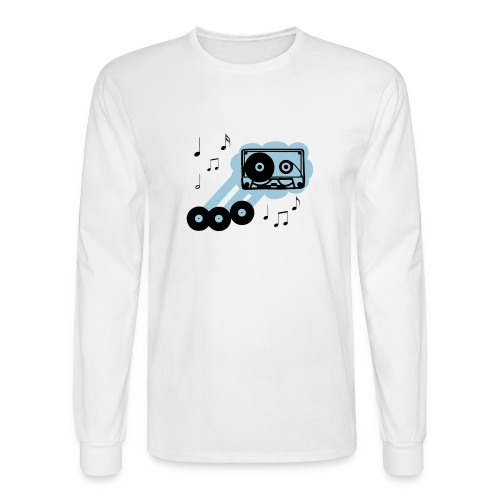Music Cloud Long Sleeve T - Men's Long Sleeve T-Shirt