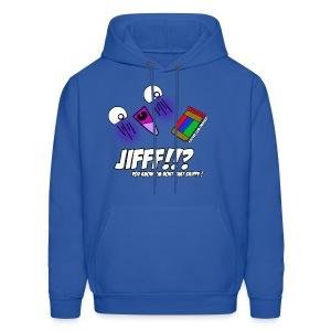 JIFFF!!? Hoodie (Choose any color!) - Men's Hoodie