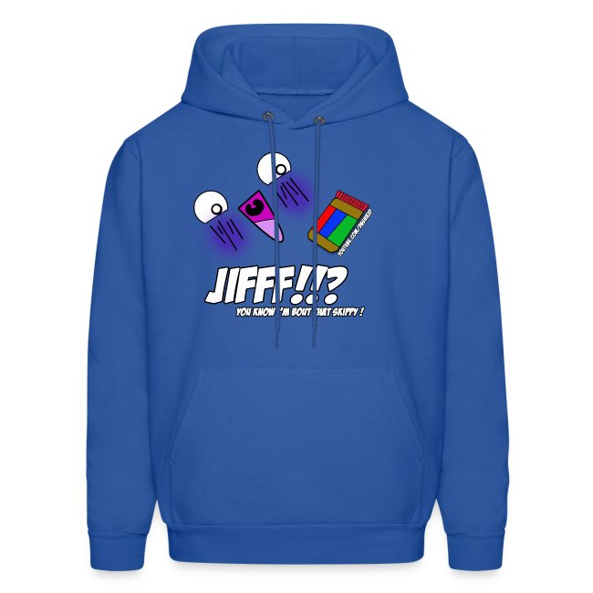 JIFFF!!? Hoodie (Choose any color!)