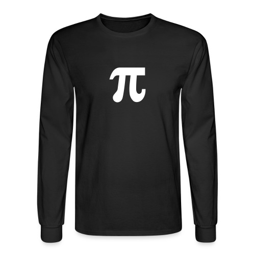 Pi Long Sleeve T - Men's Long Sleeve T-Shirt