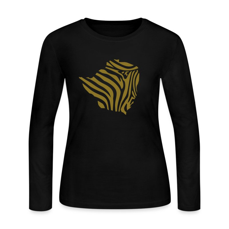 zim_zeb_t_11 - Women's Long Sleeve Jersey T-Shirt