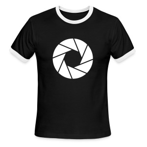 Aperture Retro t-shirt - Men's Ringer T-Shirt