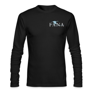 Men's Blue Heron Long Sleeve - Men's Long Sleeve T-Shirt by Next Level