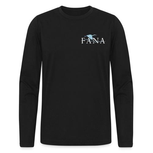 Men's Blue Heron Long Sleeve - Men's Long Sleeve T-Shirt by Next Level