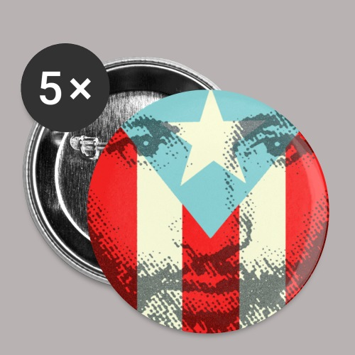FILIBERTO AND FLAG BUTTON - Small Buttons