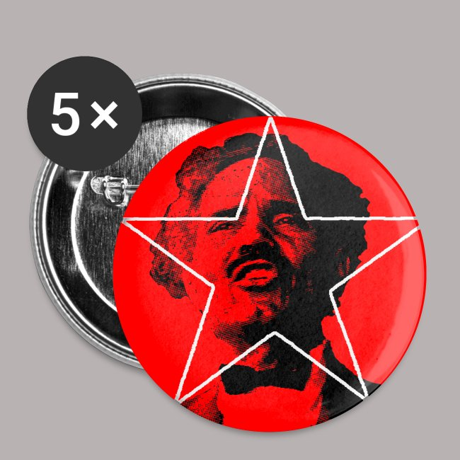 "ALBIZU STAR 1"" BUTTON"