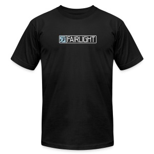 Black Classic Fairlight Logo T - Men's T-Shirt by American Apparel