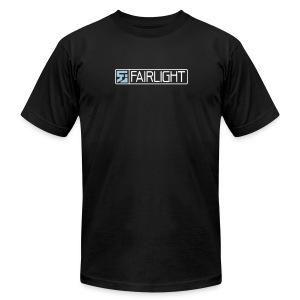 Black Classic Fairlight Logo T - Men's Fine Jersey T-Shirt