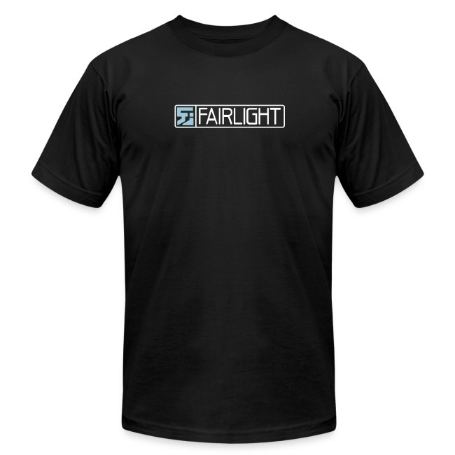 Black Classic Fairlight Logo T