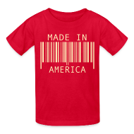 Kids' Shirts ~ Kids' T-Shirt ~ Made in America