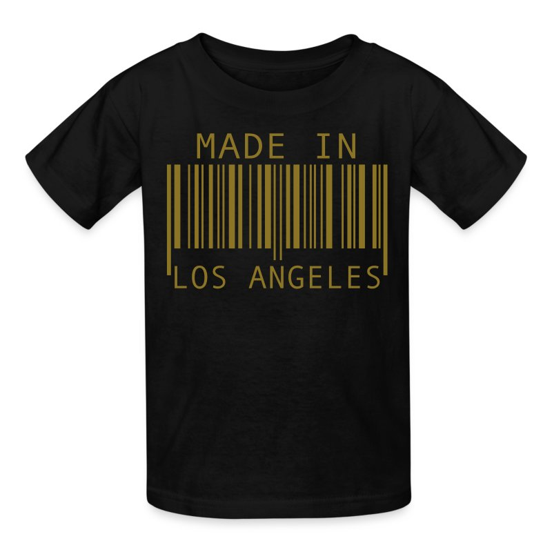 Made in los angeles t shirt spreadshirt for Bulk t shirts los angeles