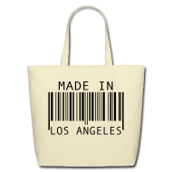 Bags & backpacks ~ Eco-Friendly Cotton Tote ~ Made in Los Angeles