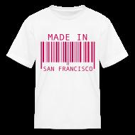 Kids' Shirts ~ Kids' T-Shirt ~ Made in San Francisco