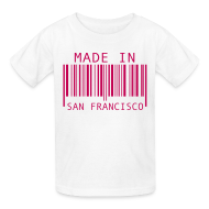 Kids' Shirts ~ Kids' T-Shirt ~ Made in San Francisco