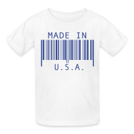 Kids' Shirts ~ Kids' T-Shirt ~ Made in U.S.A.