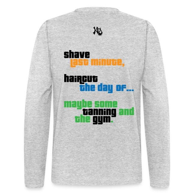 buy online f536f a3ad3 Guido Handbook | Men's Long Sleeve T-Shirt by Next Level
