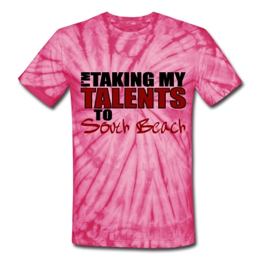 Spider pink Taking My Talents to South Beach T-Shirts