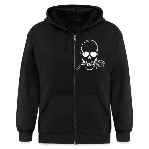 Skulls in the hood - Men's Zip Hoodie