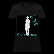 Women's T-Shirts ~ Women's T-Shirt ~ Edward's Diary Decorative Tee
