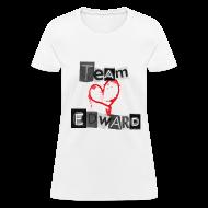 T-Shirts ~ Women's T-Shirt ~ Team Edward Heart Tee