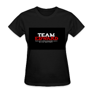 T-Shirts ~ Women's T-Shirt ~ Team Edward (Freeze than space heater) Tee