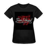 Women's T-Shirts ~ Women's T-Shirt ~ Team Edward Cullen Crest Tee
