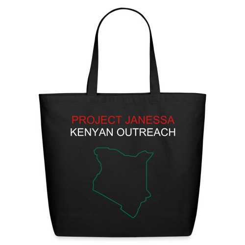 PROJECT JANESSA - KENYAN OUTREACH TOTE BAG - Eco-Friendly Cotton Tote