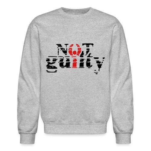 not guilty - Crewneck Sweatshirt